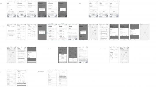 Digital Prototyping App Flow