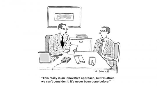 Digital Innovation Strategy Joke